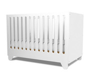 Spot on Square Hiya Crib - White