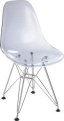 Zuo Modern Baby Spire Chair in Transparent