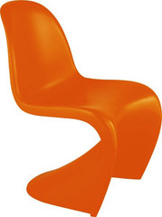 Zuo Modern Baby S Chair in Orange - Set of 2