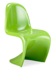 Zuo Modern S Chair in Green - Set of 2