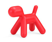 Zuo Modern Pup Chair in Red