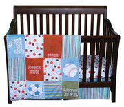Trend Lab Little MVP 3 Piece Crib Bedding Set