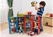 KidKraft Everyday Heroes Police and Fire Set