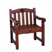 Jazty Kids Solid Teak Rose Garden Arm Chair