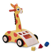 Smart Gear Toys Giraffe Walker and Shape Sorter