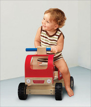 Smart Gear Toys Ride-On Fire Engine