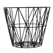 Ferm Living Wire Basket in Black -  Small