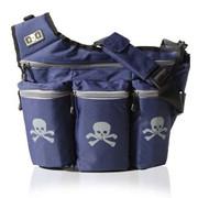 Diaper Dude Dude Bag Navy Skull