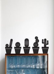 Ferm Living Cactus Wall Stickers