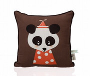 Ferm Living Posey Panda Pillow
