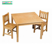 Guidecraft Mission Table and Chairs Set
