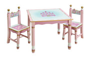 Guidecraft Princess Table and Chairs