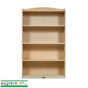 Guidecraft 6 Shelf Bookshelf