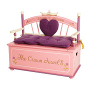 Levels of Discovery Princess Bench with Storage