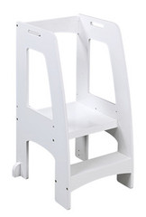 Guidecraft Step-Up Kitchen Helper - White