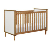 Babyletto Skip 3-in-1 Convertible Crib with Toddler Rail in Chestnut