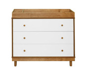 Babyletto Skip Changer Dresser in Chestnut - No Pad Included