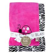Trend Lab Zahara Zebra Framed Receiving Blanket