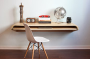 Orange22 Minimal Wall Desk in Rift Oak