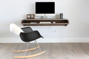 Orange22 Minimal Wall Desk in Walnut