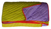 Koko Company Coverlet - Lime and Purple