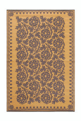 Koko Company 4' x 6' Floormat Cinquefoil - Cinnamon