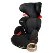 Combi Kobuk Air Thru Booster Car Seat - Licorice