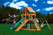 Gorilla Playsets Frontier Supreme - Weston Ginger Sunbrella
