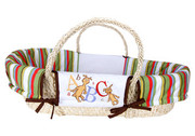 Trend Lab Dr. Seuss ABC Moses Basket Set - Natural