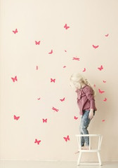 Ferm Living  Mini Butterflies - Neon Wall Stickers