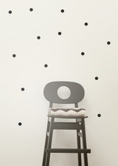 Ferm Living  Mini Dots - Black Wall Stickers