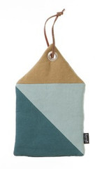 Ferm Living  House Potholder - Blue