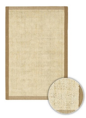 Chandra Rugs Art ART3500 Contemporary Natural Jute Rug