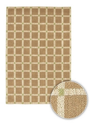 Chandra Rugs Art ART3519 Contemporary Natural Jute Rug