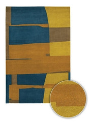 Chandra Rugs Kathryn Doherty KAT2001 Wool Area Rug