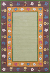 Chandra Rugs Kids KID7604 Wool Area Rug
