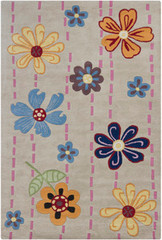 Chandra Rugs Kids KID7605 Wool Area Rug