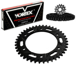 Vortex CK5276 Chain and Sprocket Kit SSA SUZ GSX1300R 08-15 (STK,ALU)