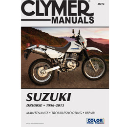 Clymer M272 Service Shop Repair Manual Suzuki DR650SE 1996-2013