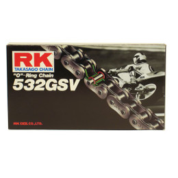 RK 532GSV Ultra High Performance Sport Bike RX-Ring Motorcycle Chain