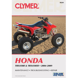 Clymer M201 Service Shop Repair Manual Honda TRX450R / TRX450ER 2004-2009