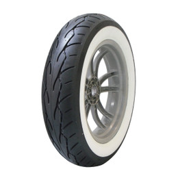 Vee Rubber VRM302 White Wall Front Tire 120/50-26TL
