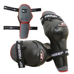 Pro Grip 5996 Motocross Armor Elbow Guards Black Adult