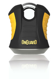 OnGuard 8101 Beast Padlock Shackle with Pouch & Reminder 11mm
