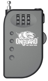 OnGuard 8063 Terrier Roller Cable Lock 2.92' x 2mm