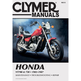 Clymer M313 Service Shop Repair Manual Honda VT700 / 750 83-87