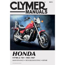 Clymer M313 Service Shop Repair Manual Honda VT700 / 750 83-87
