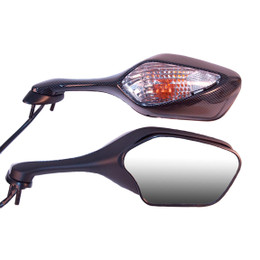 EMGO OEM Replacement Mirror for 08-09 Honda CBR1000RR Right Side Carbon