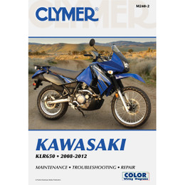 Clymer M240-2 Service Shop Repair Manual Kawasaki KLR650 2008-2012
