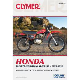Clymer M312-14 Service Shop Repair Manual Hon XL/XR75 / XL/XR80 / XL/XR100 75-91